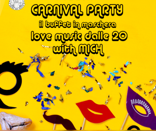 🎉 08.02.2018 | Carneval Party - il buffet in maschera 🎭