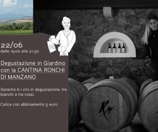 """""""Degustazione in Giardino"""" - I vini della Cantina Ronchi di Manzano"""
